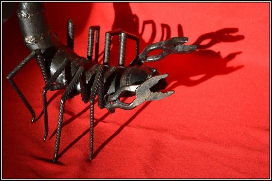 Scorpion (détail) - 2011